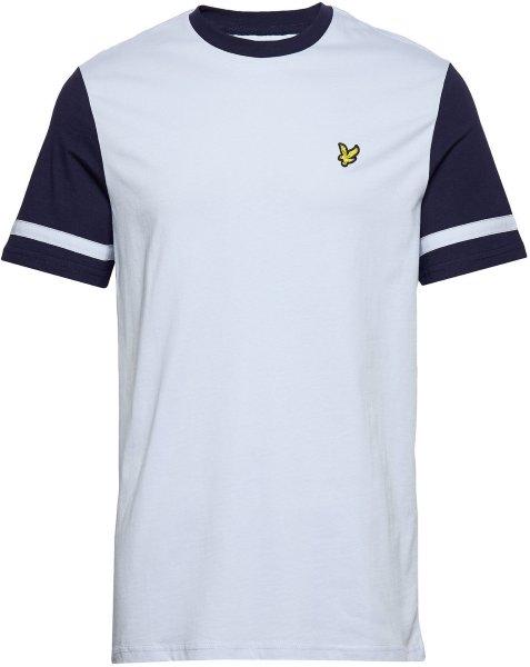 Lyle & Scott Contrast Sleeve T-Shirt