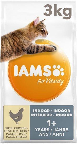 Iams Vitality Cat Adult Indoor Chicken (3 kg)