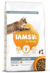 Iams Vitality Cat Adult Indoor Chicken (10 kg)