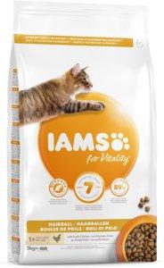 Iams Vitality Cat Adult Hairball (3 kg)