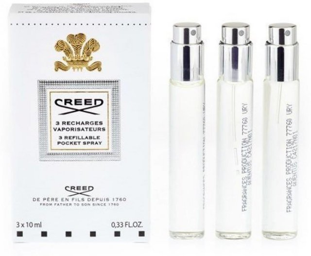 Creed Green Irish Tweed Travel Spray (3x10 ml)