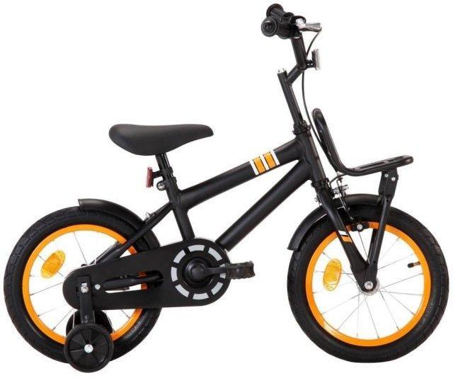 """VidaXL sykkel med bagasjebrett 14"""""""