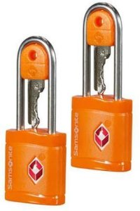 Samsonite TSA-lås 2 pk (med nøkkel)