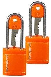 Samsonite Lås m/nøkkel 2 pk (uten TSA)