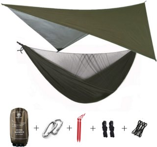 MacKenzie Hiking Hammock With Tarp