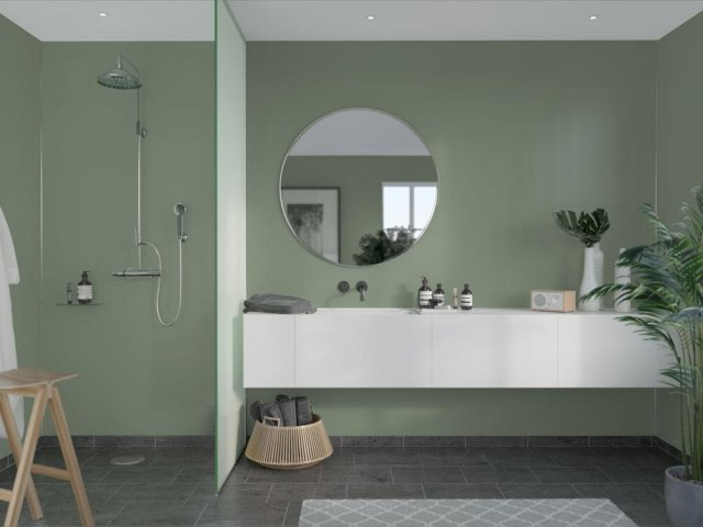 Fibo Colour Collection 5206-M00 Olivegreen