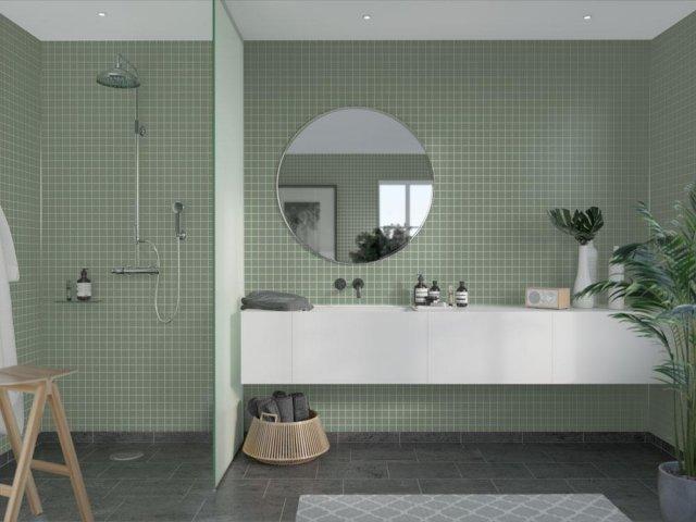 Fibo Colour Collection 5206-M0303 Olivegreen