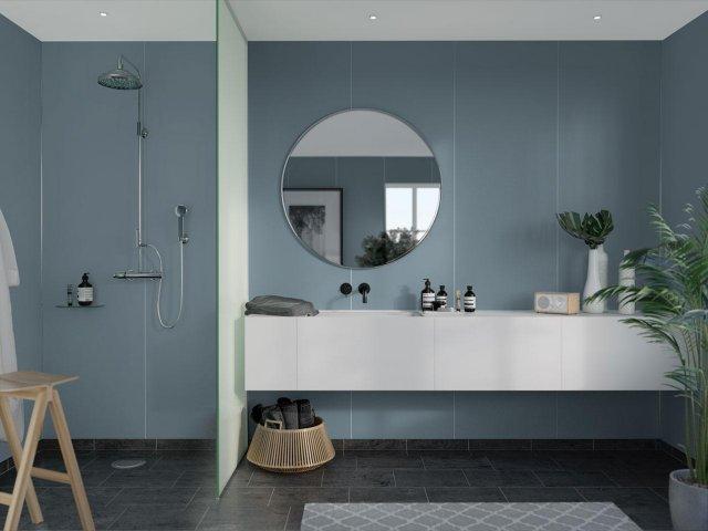 Fibo Colour Collection 6274-M10 Dusty Blue