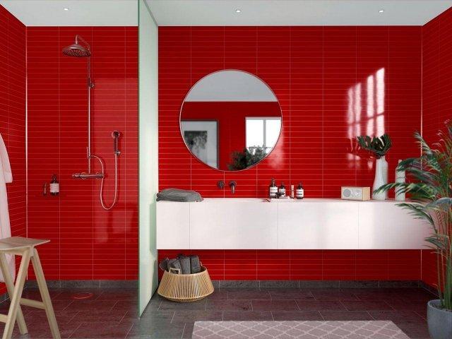 Fibo Colour Collection 2101-M3005 Red