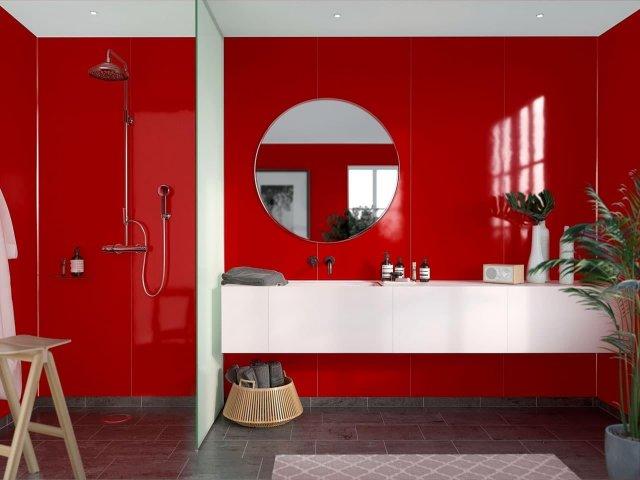 Fibo Colour Collection 2101-M10 Red