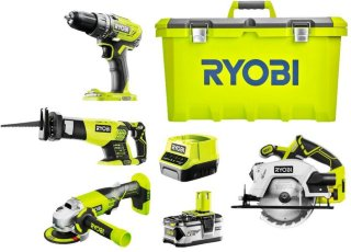 Ryobi One+ Startpakke