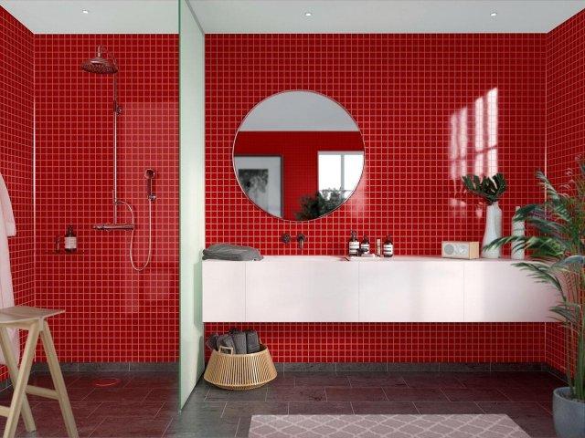 Fibo Colour Collection 2101-F30 Red