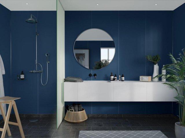 Fibo Colour Collection 5230-M10 Smokey Blue