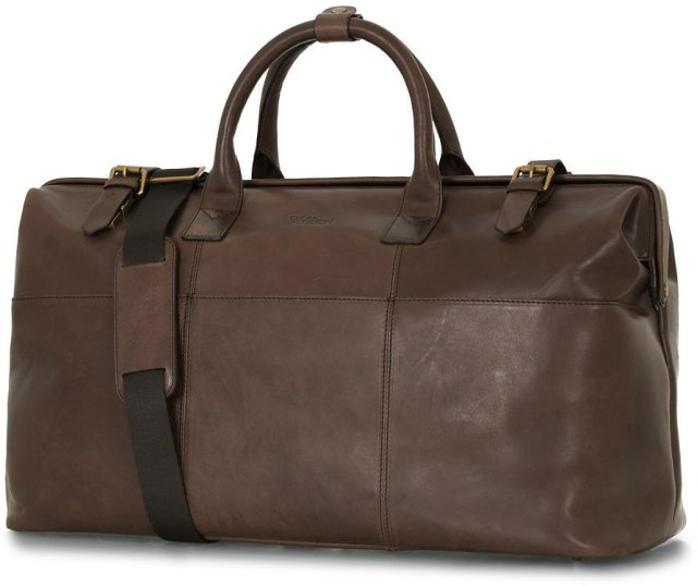 Oscar Jacobson Leather Weekendbag