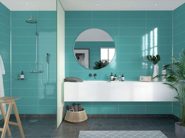 Fibo Colour Collection 2212-F05 Aquamarine