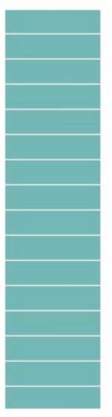 Fibo Colour Collection 2212-F24 Aquamarine
