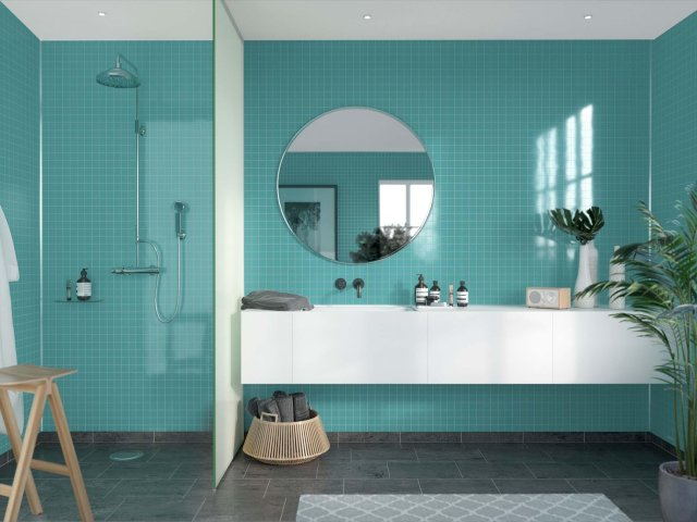 Fibo Colour Collection 2212-M0303 Aquamarine