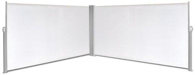 VidaXL Uttrekkbar sidemarkise 160x600cm