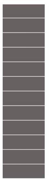 Fibo Colour Collection 4054-F05 Milano Antrasite