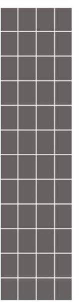 Fibo Colour Collection 4054-F08 Milano Antrasite
