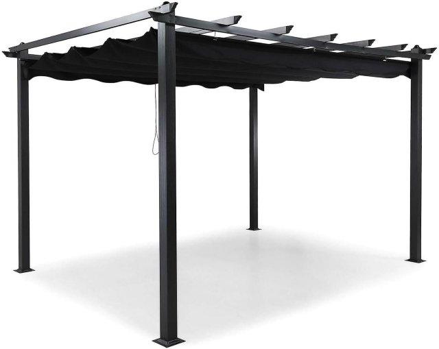 Comfort Garden Pergola med sammenleggbart tak