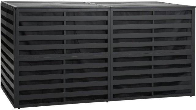 VidaXL Putekasse aluminium 200x100x100cm