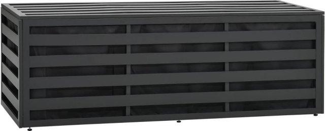 VidaXL Putekasse aluminium 150x50x50cm