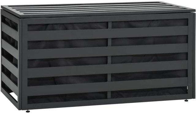 VidaXL Putekasse aluminium 100x50x50cm