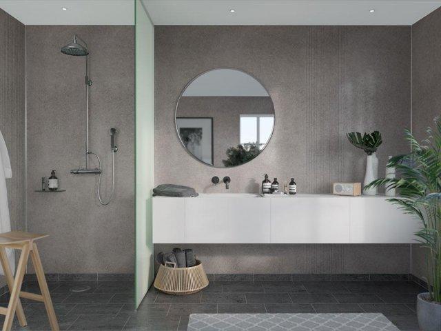 Fibo Marcato 4943-ME88 Grey Concrete