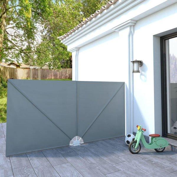 VidaXL Sammenleggbar sidemarkise for terrasse 300x150cm