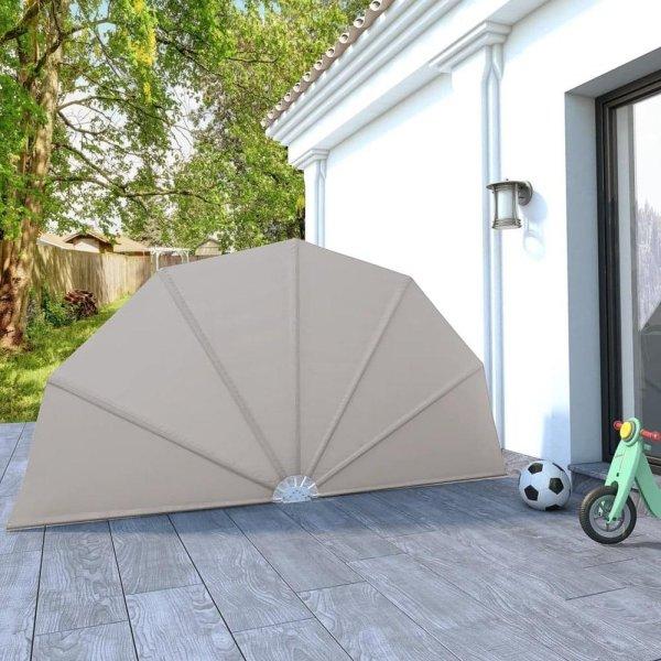 VidaXL Sammenleggbar sidemarkise for terrasse 160cm