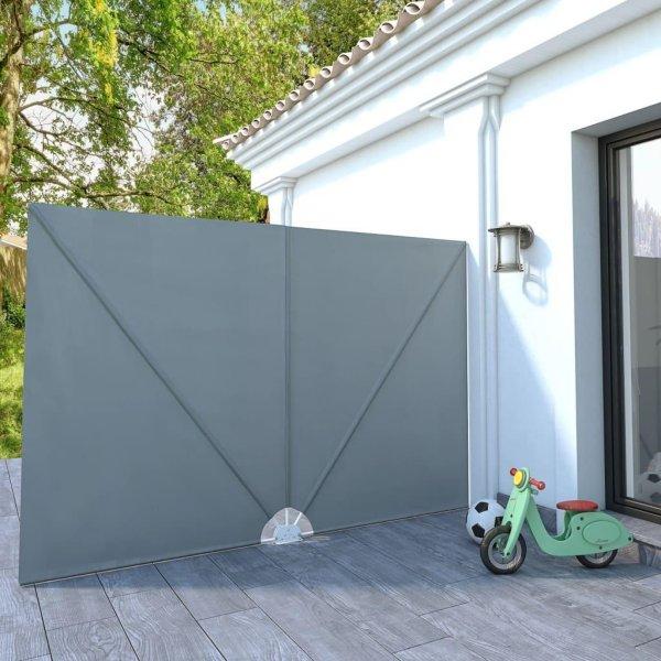 VidaXL Sammenleggbar sidemarkise for terrasse 200x300cm