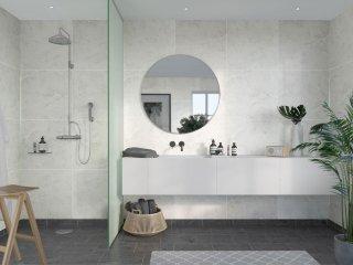 Fibo Marcato 2273-M6060 White Marble