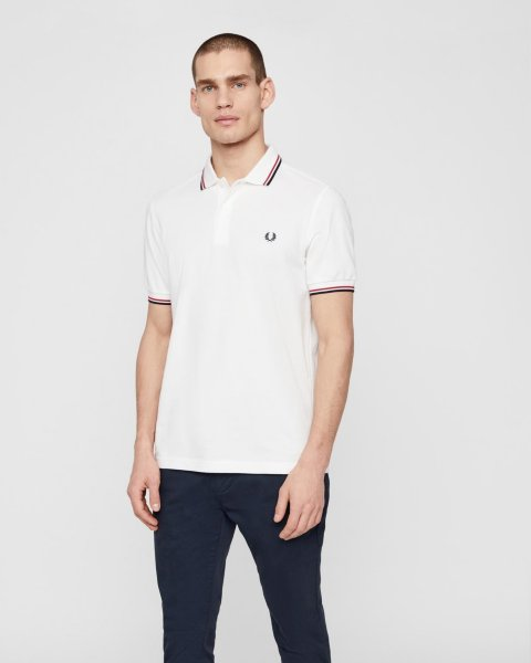 Fred Perry Twin Tipped Piquet