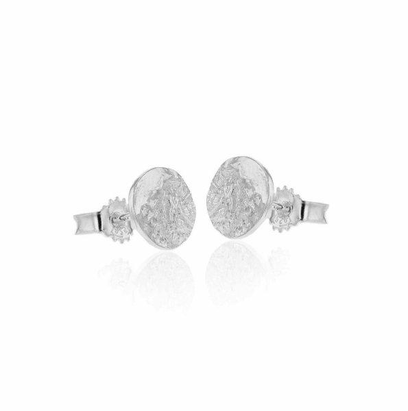 Hasla Space Lunar Surface Earrings