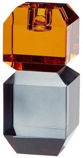 Hübsch Lysestake amber/smoke
