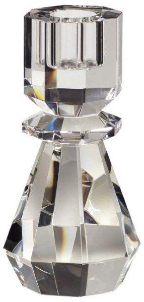 Hübsch Lysestakeglass klar