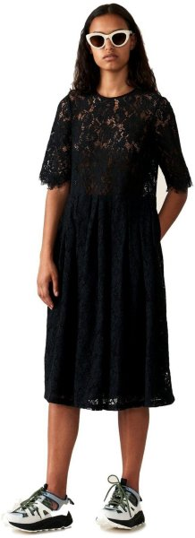 Ganni Everdale Lace Dress