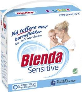 Lilleborg Blenda Sensitive Color 4,3 kg 3 pakker