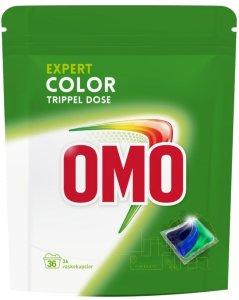 Lilleborg Omo Color trippel dose 36 vaskekapsler