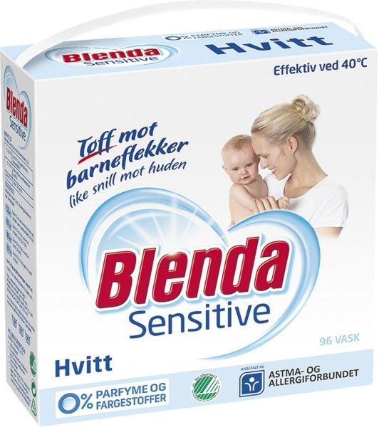 Lilleborg Blenda Sensitive Hvitt 4,3 kg 3 pakker