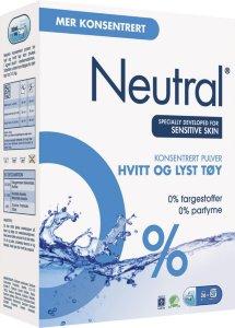 Neutral Tøyvask hvitvask 975g