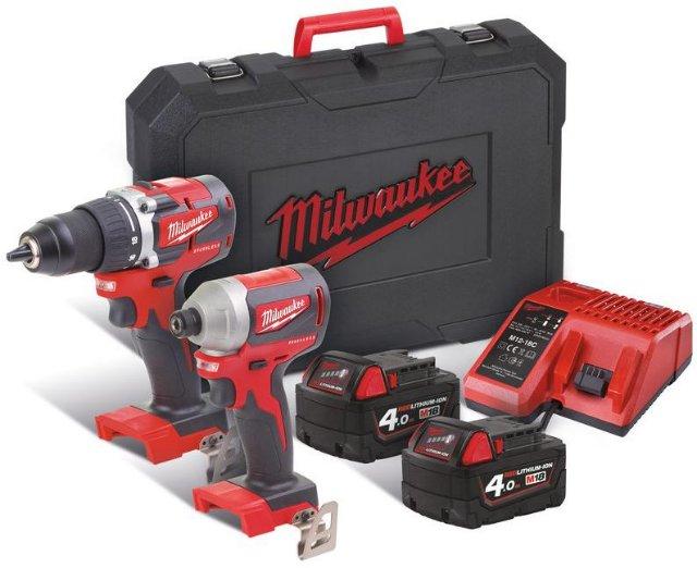 Milwaukee M18 CBLPP2B-402C (2x4,0Ah)