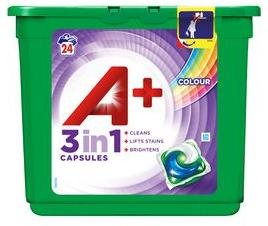 A+ Color 3 in 1 Capsules 24 stk