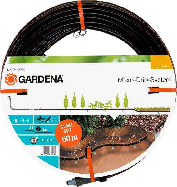 Gardena Dryppslange Under Bakken 50 m