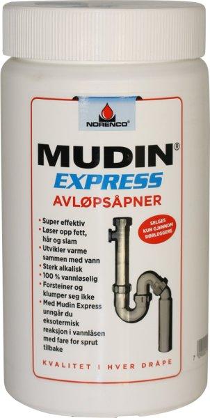 Norenco Mudin Express avløpsåpner
