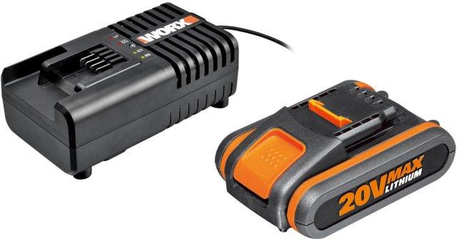 Worx PowerShare WA3551.1 + WA3601 20V 2,0Ah