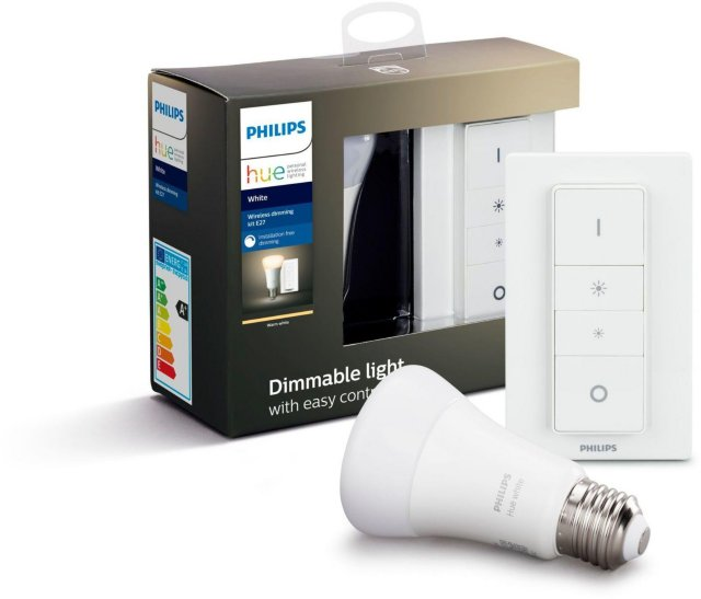 Philips Hue White E27 Bluetooth med dimmer