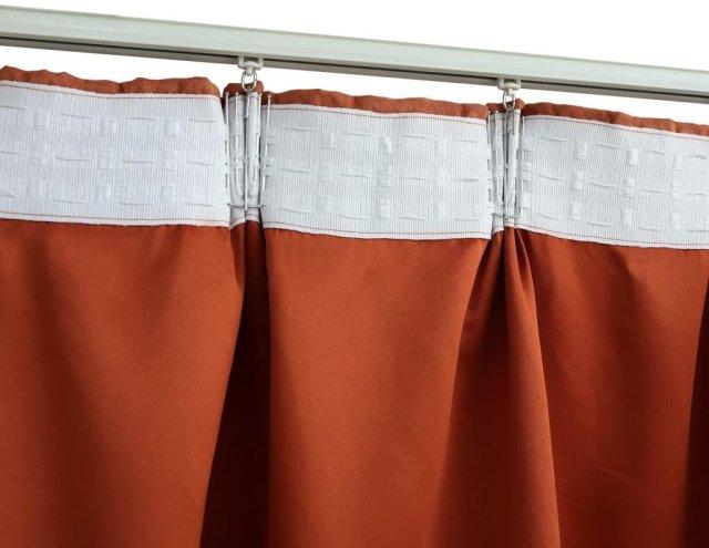 VidaXL Lystette gardiner med kroker 140x175cm 2 stk
