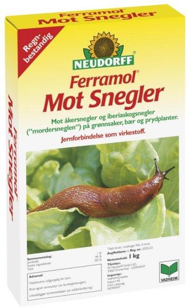 Neudorff Ferramol mot snegler 1kg